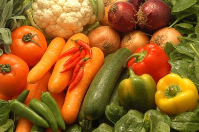 vegetables / alimentos
