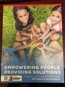 Cover photo for Cooperative Extension Shares Its 2017 Report to the Community