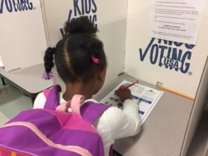 Cover photo for Extension's Kids Voting Durham Program Invites Students to Get Involved in 2017 Local Elections