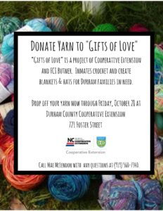 Cover photo for Donate Yarn Through November 30 for Gifts of Love
