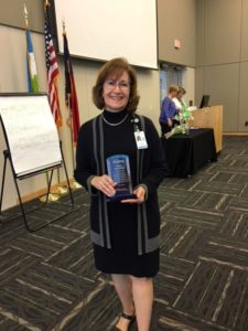 Cover photo for Peggy Kernodle Receives 2018 Making a Difference Award