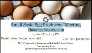 Cover photo for Small Scale Egg Producers' Meeting