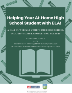 Cover photo for Helping Your At-Home High School Student With ELA