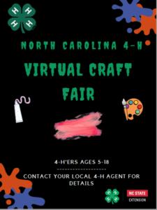 NC 4-H Virtual Craft Fair