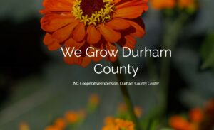 Cover photo for Check Out This Quarter's We Grow Durham County!