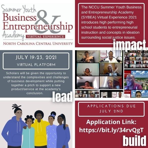 Business and Entrepreneurship Academy flyer image
