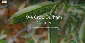 Cover photo for Hot Off the Presses: We Grow Durham County Summer Edition